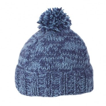 Donegal Bobble Hat (Blue)