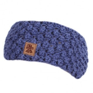 Mora Merino Headband (Denim)