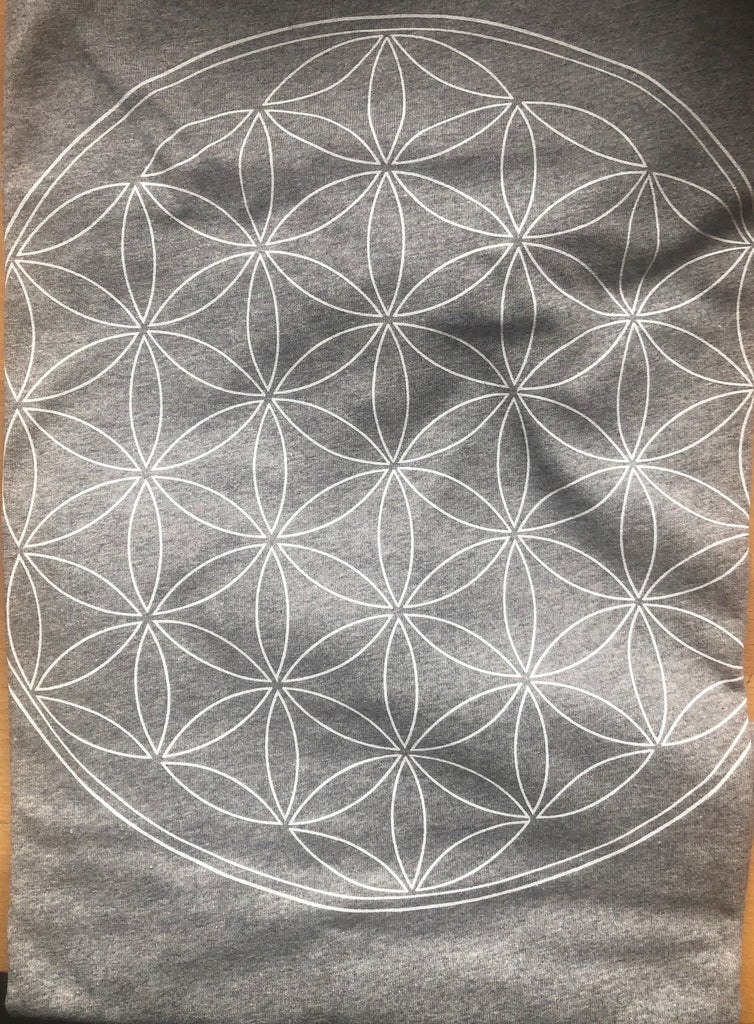 Flower of Life T-Shirt in grey