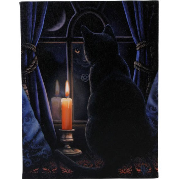 Midnight Vigil Canvas