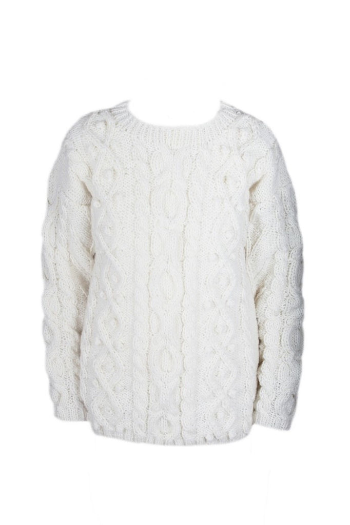 Ardara Women's Sweater Cream