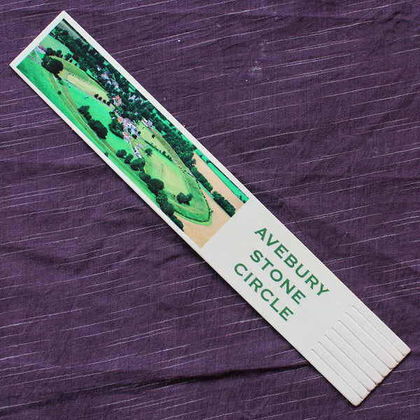 Avebury Bookmark (Leather)