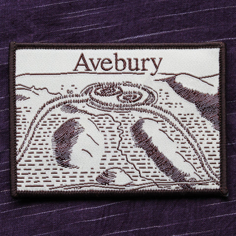 Avebury Iron on Patch