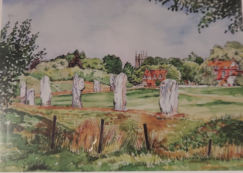 Avebury in Summer