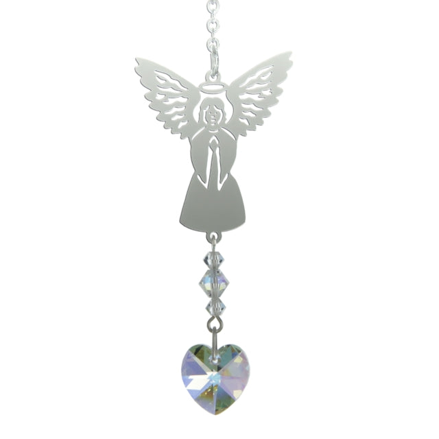Birthstone Angel - April (Crystal)