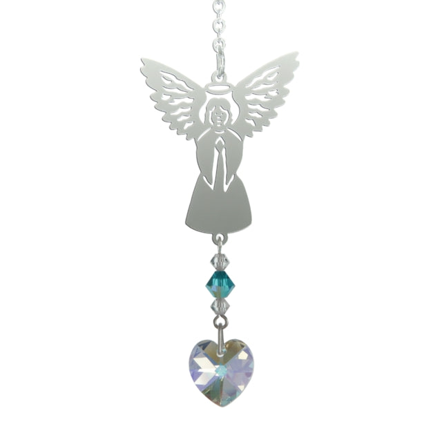 Birthstone Angel - December (Blue Zircon)