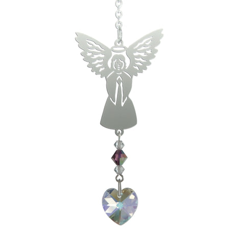 Birthstone Angel - February (Amethyst)