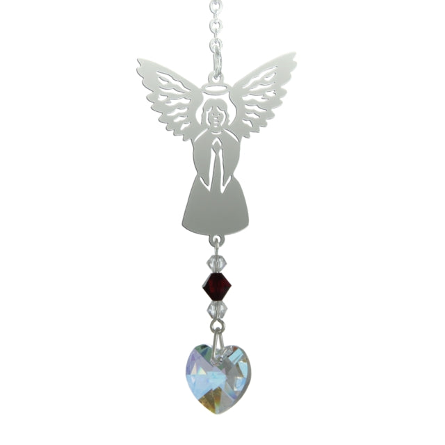 Birthstone Angel - January (Garnet)
