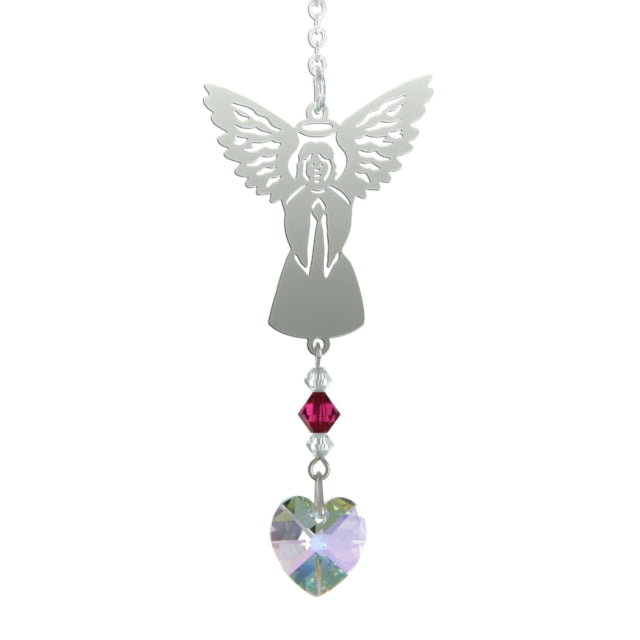 Birthstone Angel - July (Ruby)