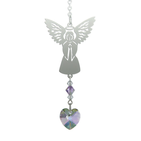 Birthstone Angel - June (Light Amethyst)