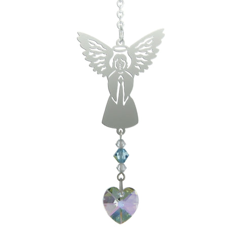 Birthstone Angel - March (Aquamarine)