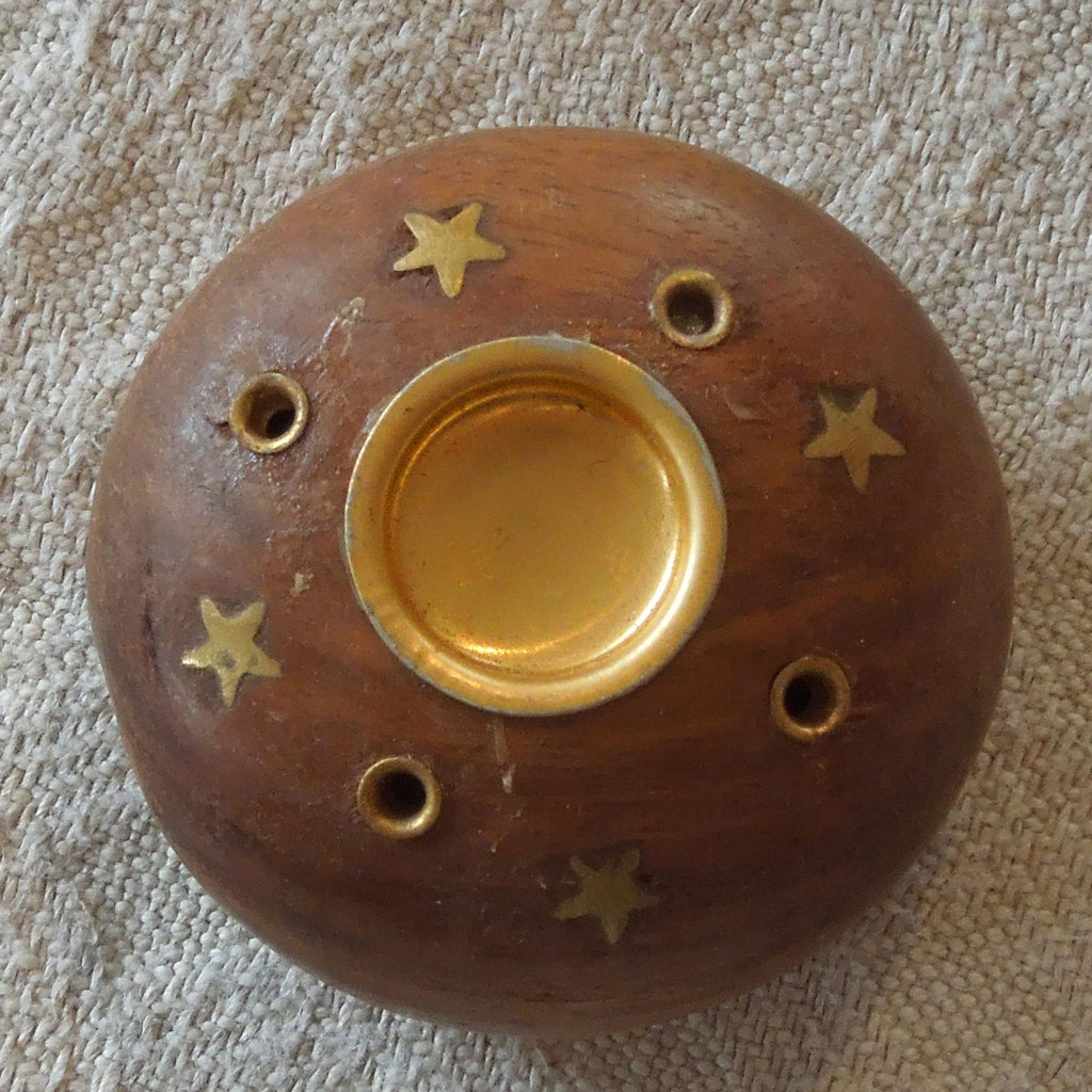Wooden Incense burner (Cone)
