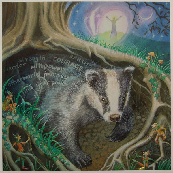 Wendy Andrew - Calling Badger