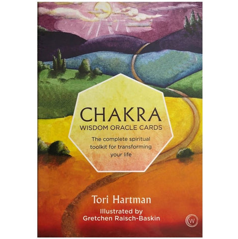 Chakra Wisdom Oracle Cards by Tori Hartman