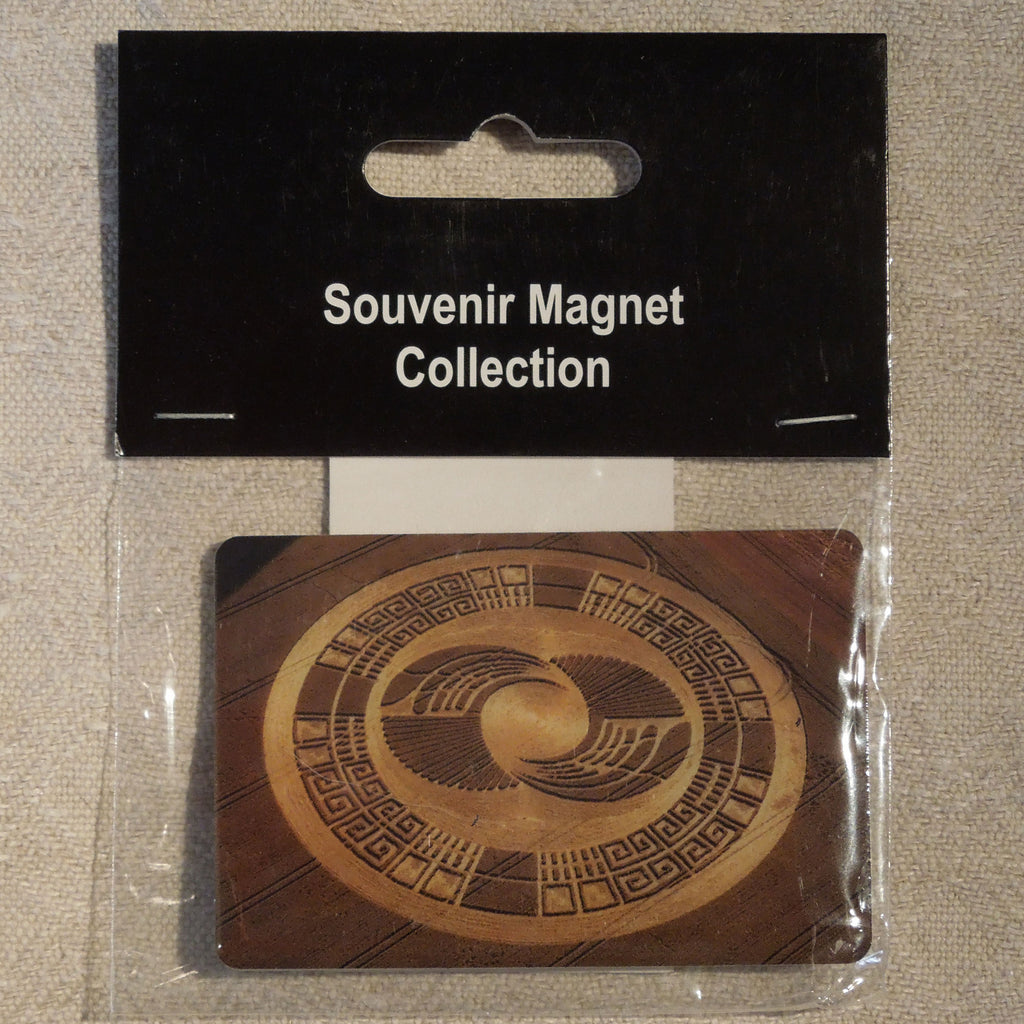 Crop Circle Magnet - Mayan Wings
