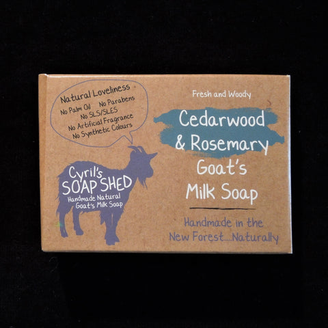 Goat's Milk Soap - Cedarwood & Rosemary