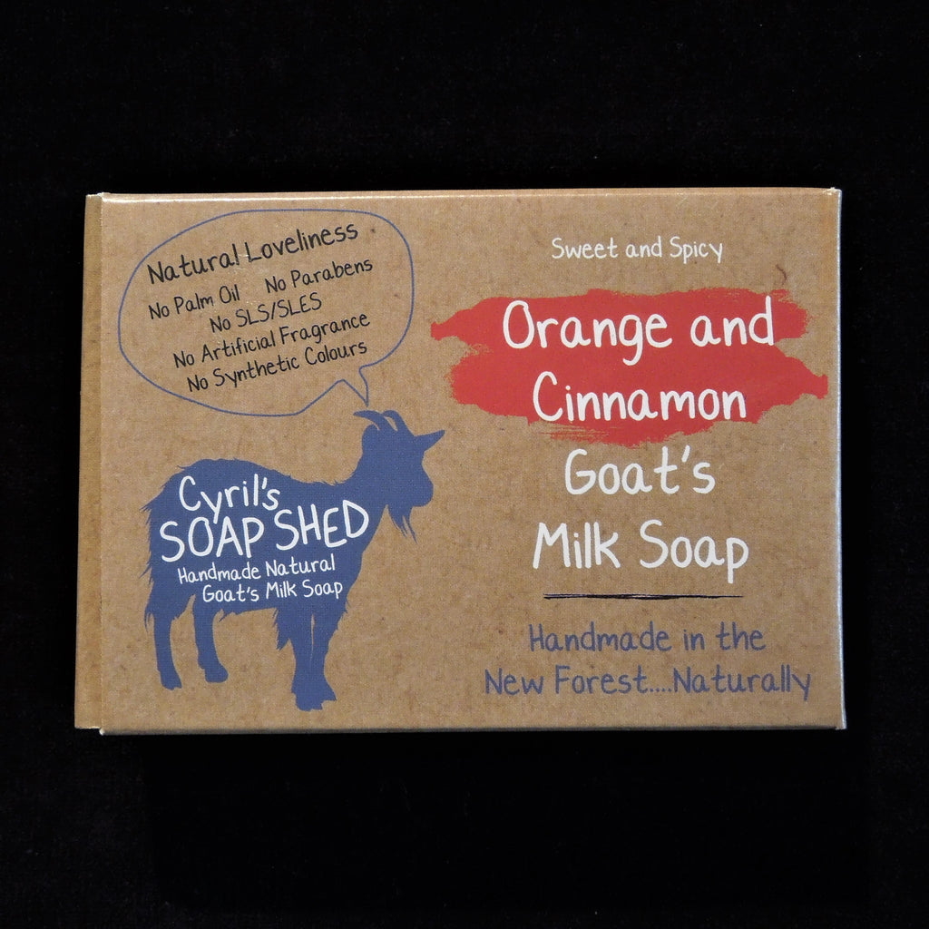 Goat's Milk Soap - Orange & Cinnamon