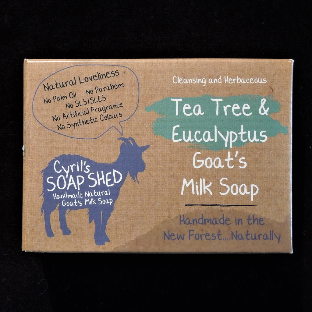 Goat's Milk Soap - Tea Tree & Eucalyptus