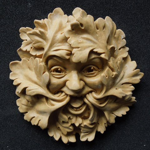 Green Man - Leaf