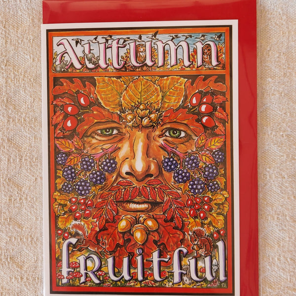 Autumn Fruitful Green Man