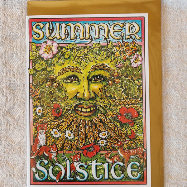 Summer Solstice Green Man