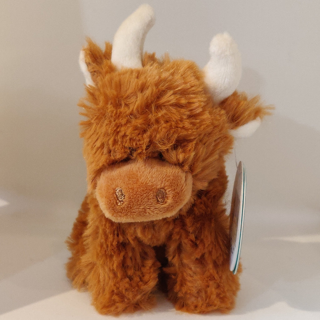 Mini Highland Cow Soft Toy