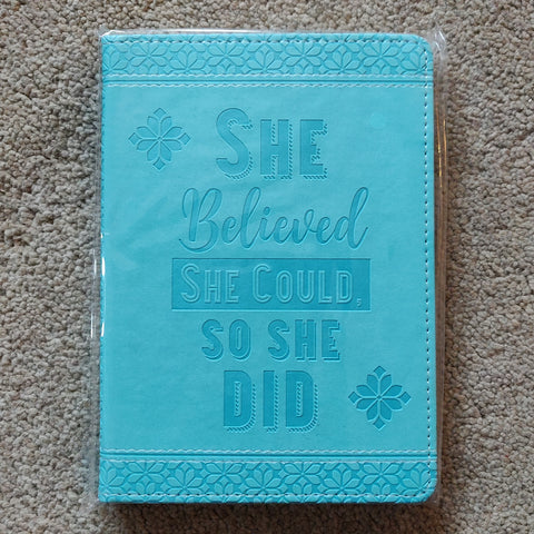 She Believed She Could So She Did Journal.