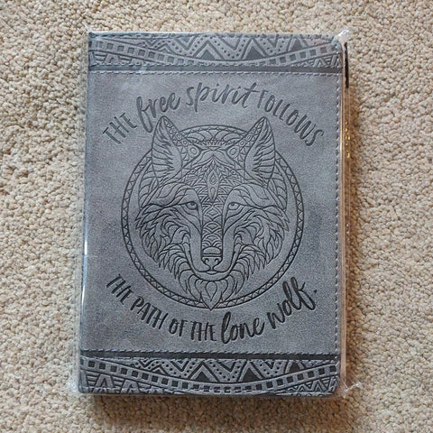 The Free Spirit Follows the Path of the Lone Wolf Journal