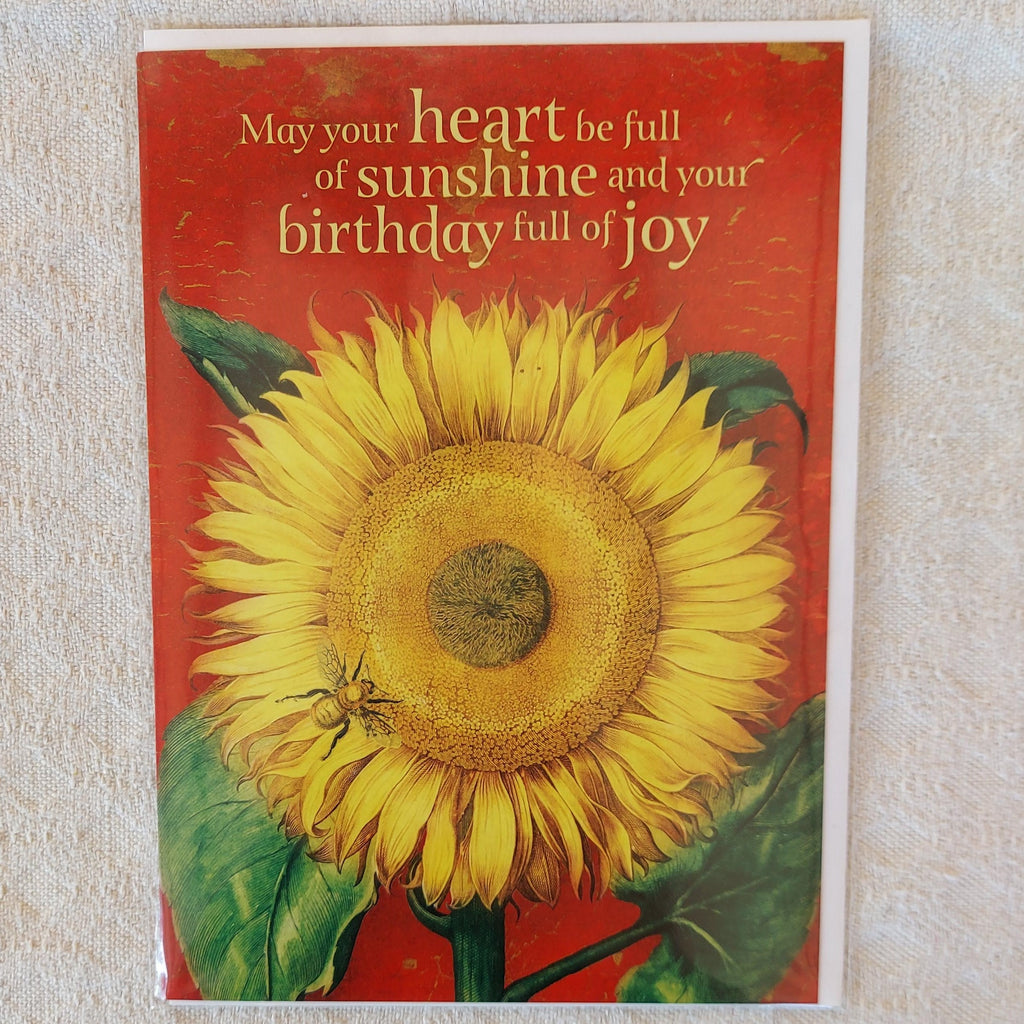 May your heart be full of Sunshine....