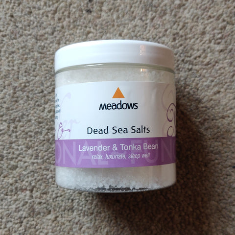 Lavender & Tonka Bean Bath Salts