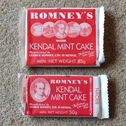 Kendal Mint Cake - Brown Sugar
