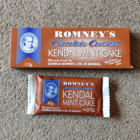 Kendal Mint Cake - Chocolate Covered