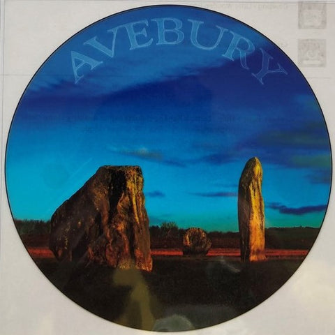 Avebury Stone Circles Stained Glass Window Transfer