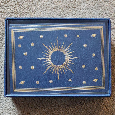 Notecards - Celestial