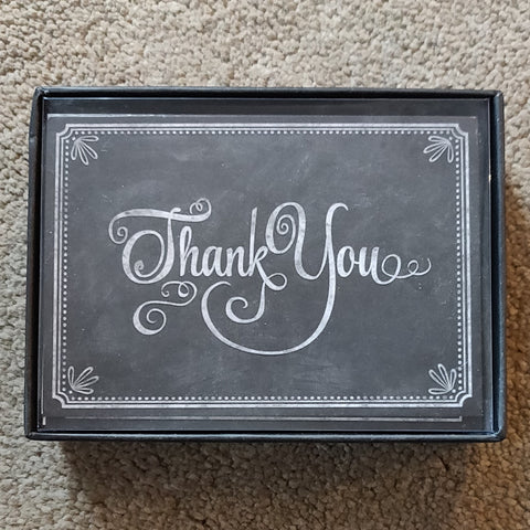 Notecards - Thank You