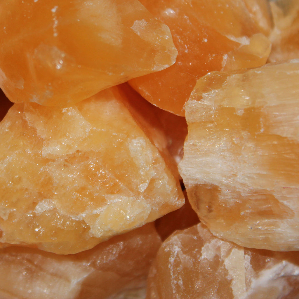 Calcite - Orange (Raw)