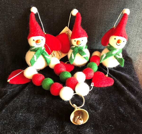 Snowman Christmas Hanging Decoration