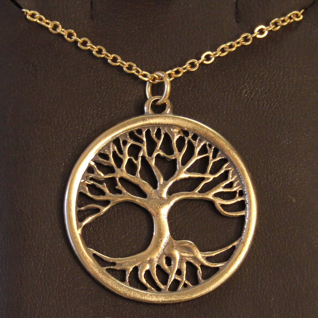 Bronze Tree of Life Necklace