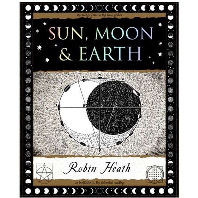 Sun, Moon & Earth - Little Wooden Book