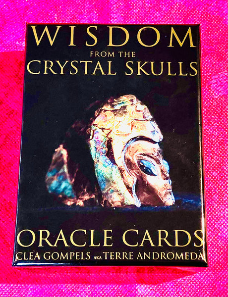 Wisdom From The Crystal Skulls Oracle Cards