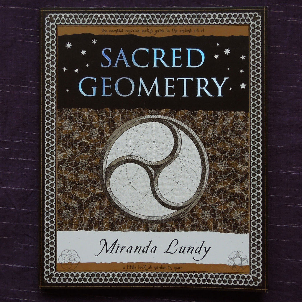 Sacred Geometry - Little Wooden Book