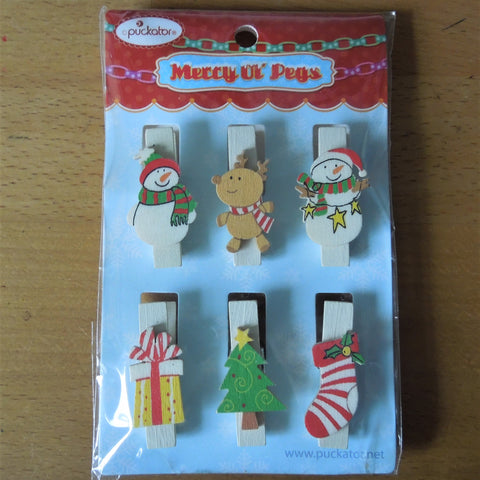 Gift Pegs - Mixed