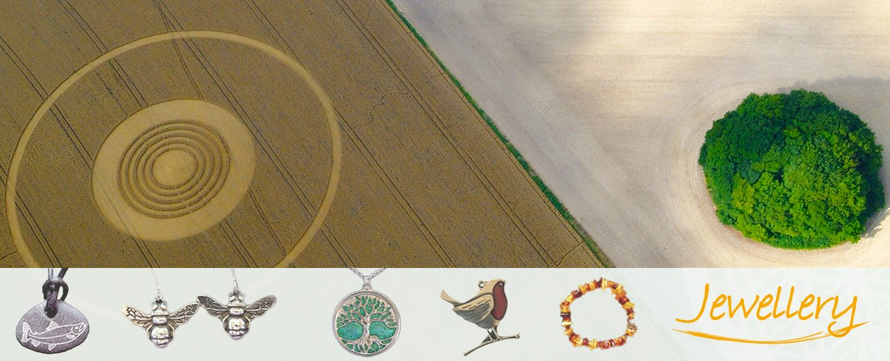 Jewellery from the Henge Shop at Avebury, UK