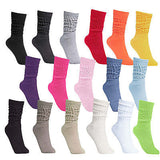 BRUBAKER Slouch Socks for Women & Men - Perfect for Fitness, Yoga, Dance, Workout