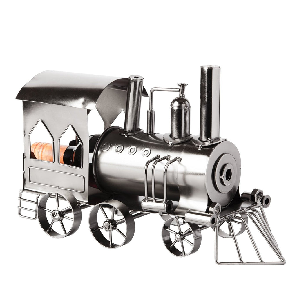 "BRUBAKER Wine Bottle Holder ""Locomotive"" 6039"