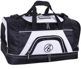 "BRUBAKER ""Big Base"" XXL Gym & Sauna Bag with Shoe Compartment - 25 Inches - Sports Duffel Bag - Durable - Multiple Colors"