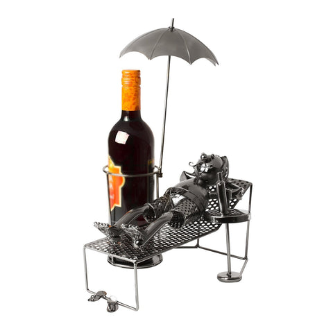 "BRUBAKER Wine Bottle Holder ""Tourist"""