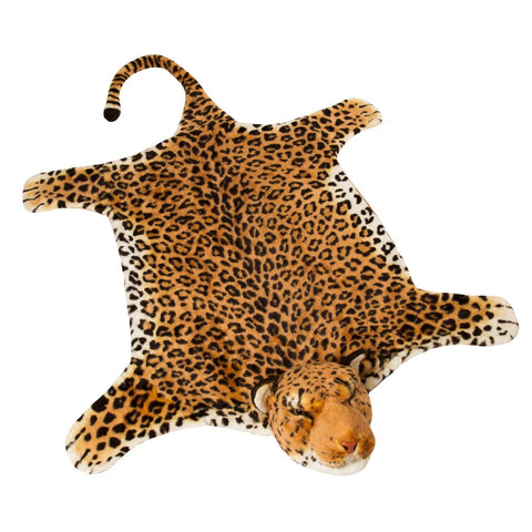 BRUBAKER Huge Leopard Rug 78x47 Inches