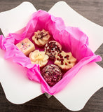 "BRUBAKER ""Sweet Berries"" Bath Melts Gift Set - Vegan - Organic -Handmade"