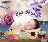 "BRUBAKER ""Chocolate à la Mode"" Bath Melts Gift Set - Vegan - Organic - Handmade"